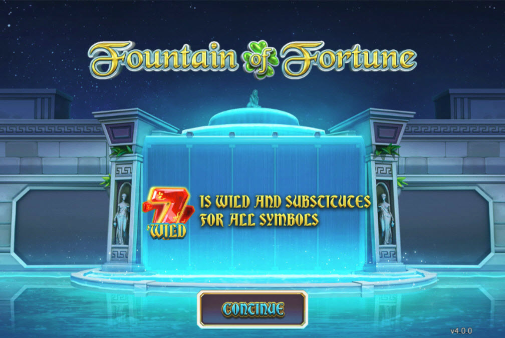 Fountain of Fortune :: Introduction