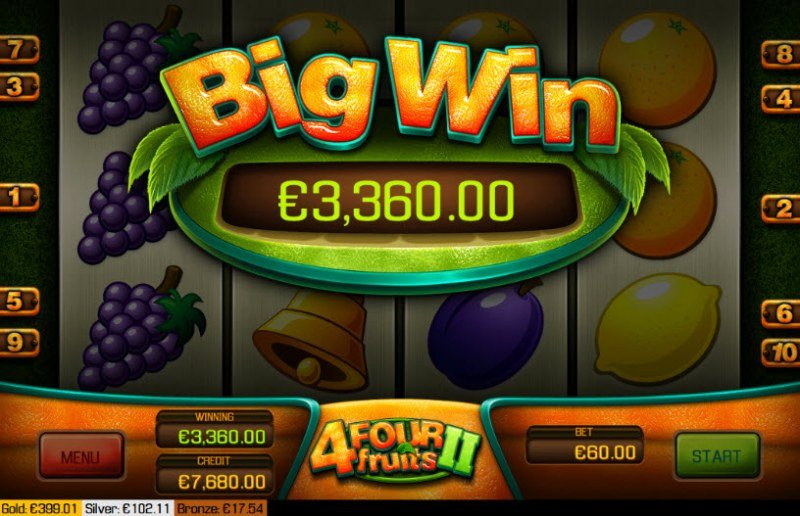 Four Fruits II :: Big Win