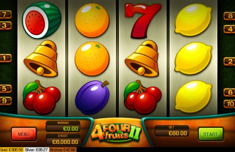 Four Fruits II :: Main Game Board