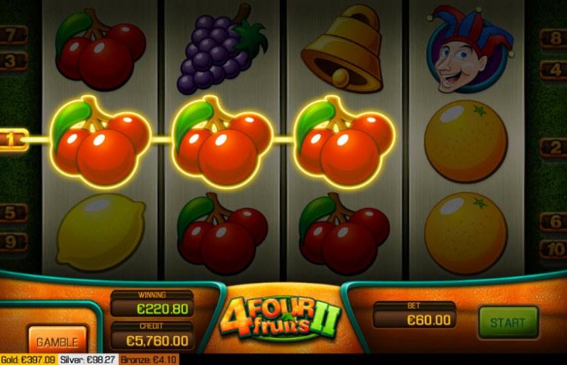 Four Fruits II :: Three of a kind