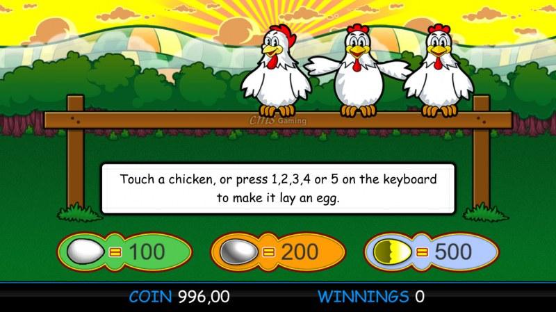 Fowl Play Gold :: Bonus Pick Game Board