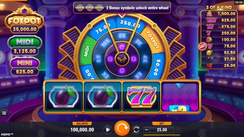 Foxpot :: Main Game Board