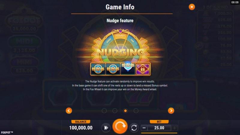 Foxpot :: Nudge feature