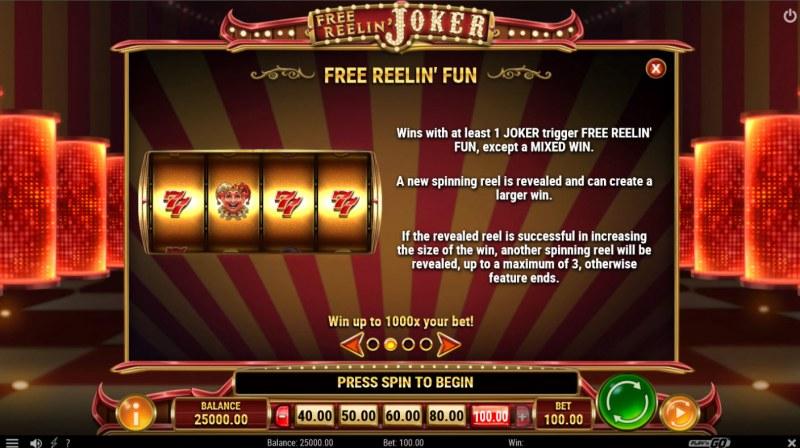Free Reelin Joker :: Free Reelin Fun