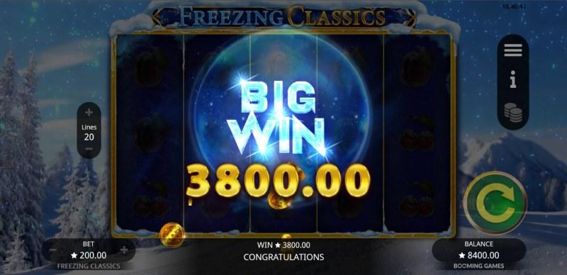Freezing Classics :: Big Win