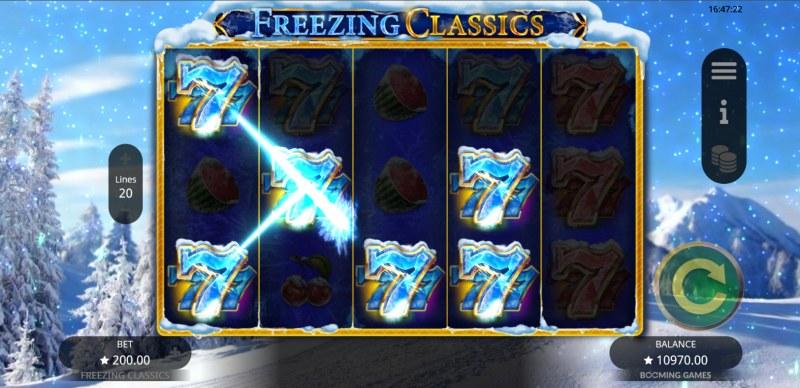 Freezing Classics :: A four of a kind win