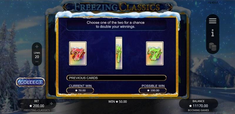 Freezing Classics :: Gamble feature
