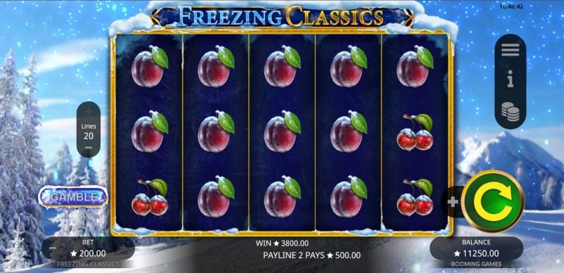 Freezing Classics :: Multiple winning combinations lead to a big win