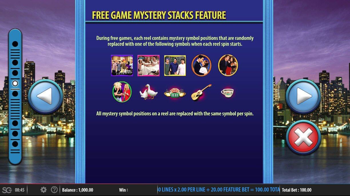 Friends :: Free Game Mystery Stacks Feature