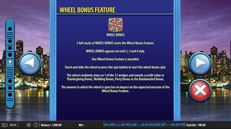 Friends :: Wheel Bonus Feature