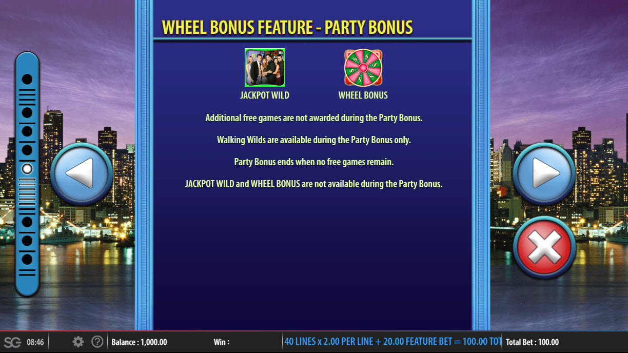 Friends :: Mystery Stacks Feature - Party Bonus