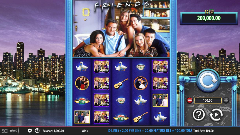 Friends :: Main Game Board