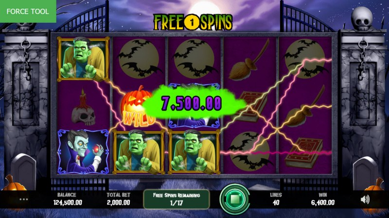 Fright Night :: Multiple winning paylines