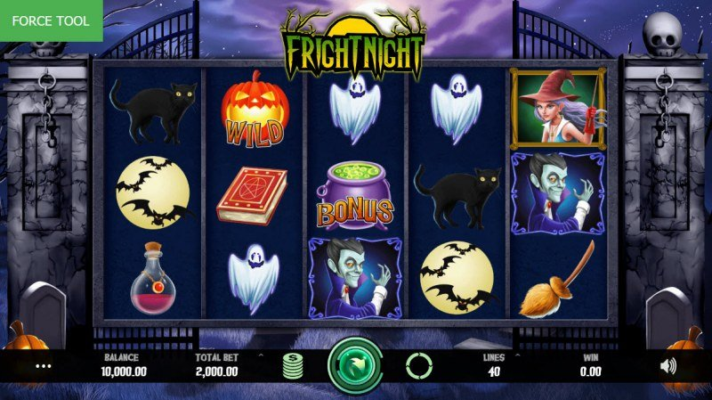 Fright Night :: Main Game Board