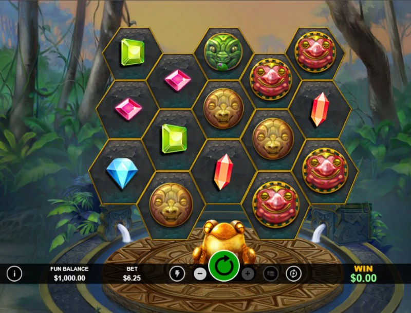 Frog Fortunes :: Main Game Board