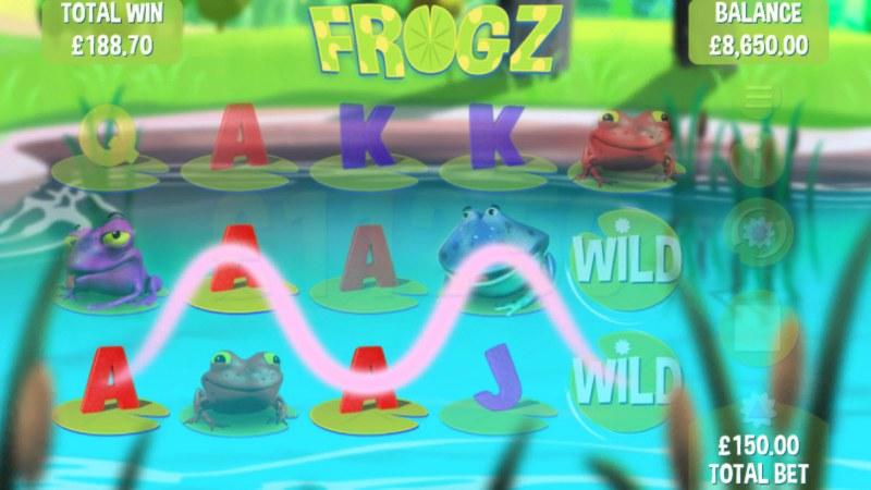 Frogz :: Three of a kind