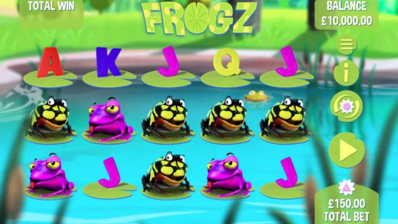 Frogz :: Main Game Board