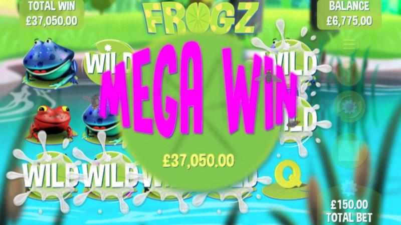 Frogz :: Mega Win