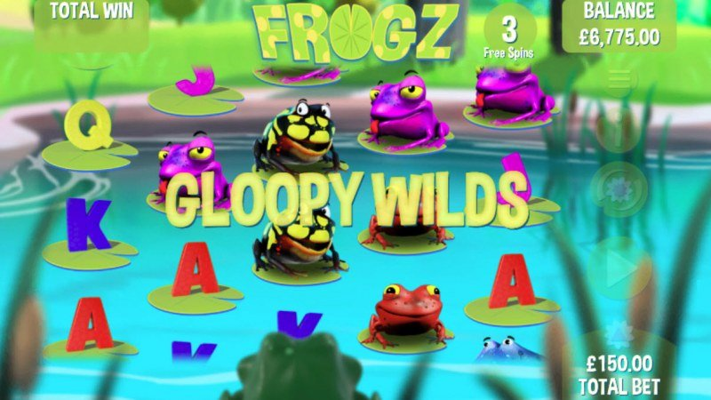 Play slots at Yako Casino: Yako Casino featuring the Video Slots Frogz with a maximum payout of $7,500