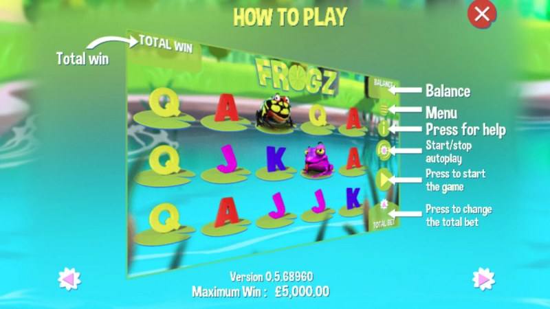 Frogz :: How To Play