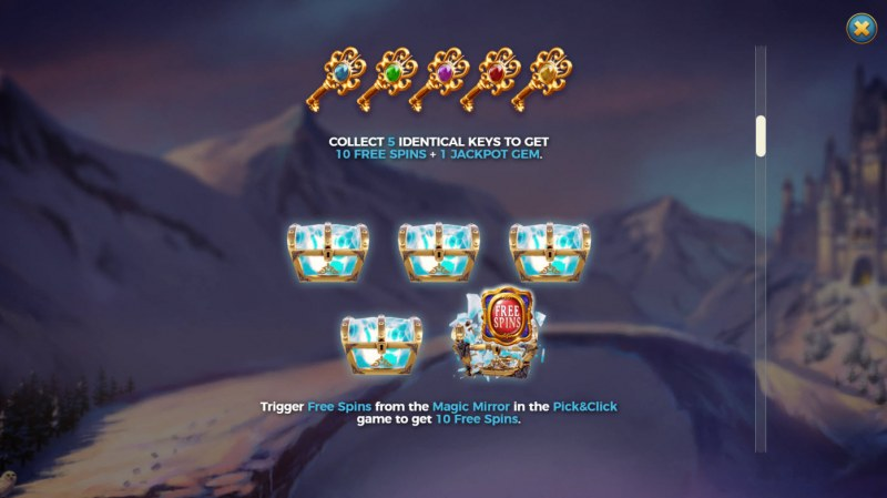 Frost Queen Jackpots :: Feature Rules
