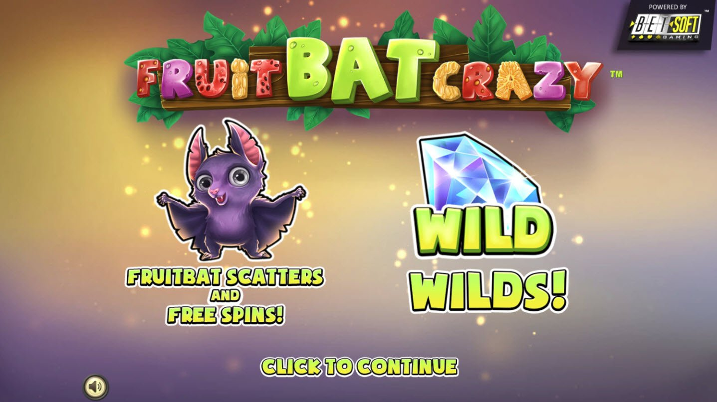 Play slots at Casino Alpha: Casino Alpha featuring the Video Slots Fruit Bat Crazy with a maximum payout of $47,850
