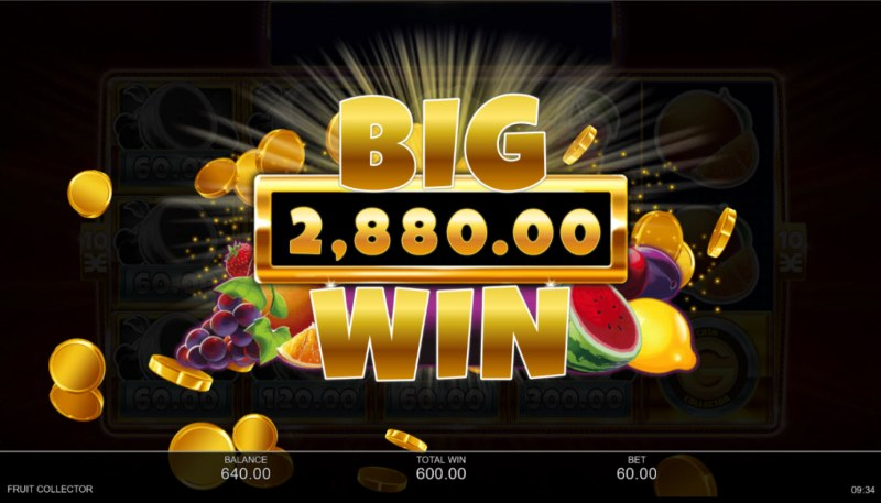 Fruit Collector :: Total Feature Payout