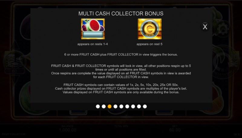Fruit Collector :: Multi Cash Collector Bonus