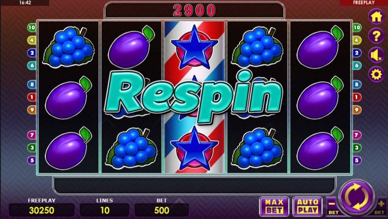 Fruit Express :: Respin triggered
