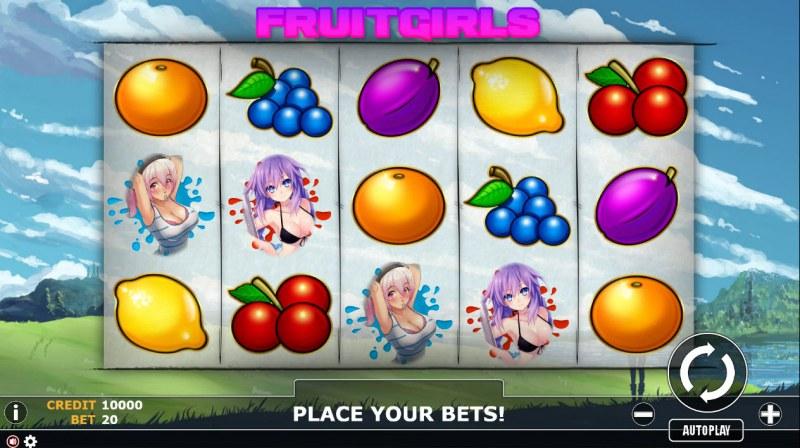 Fruit Girl :: Main Game Board