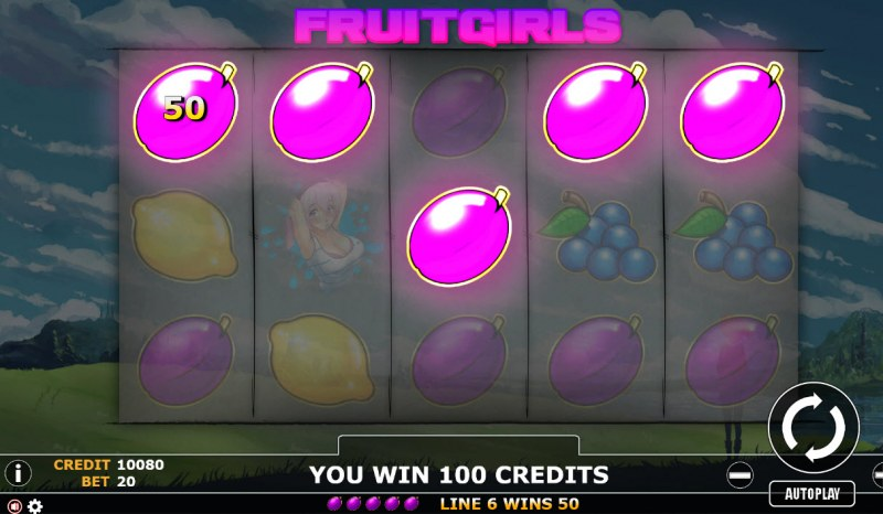 Fruit Girl :: Five of a kind