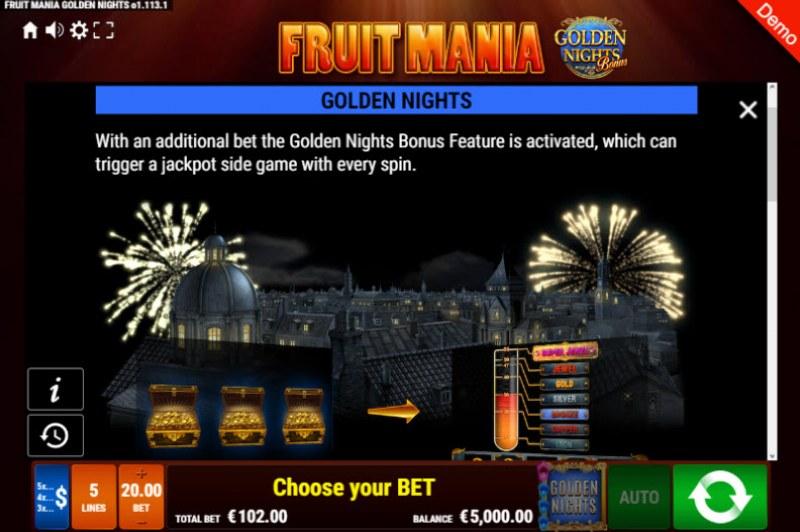 Fruit Mania Golden Nights Bonus :: Golden Nights Bonus