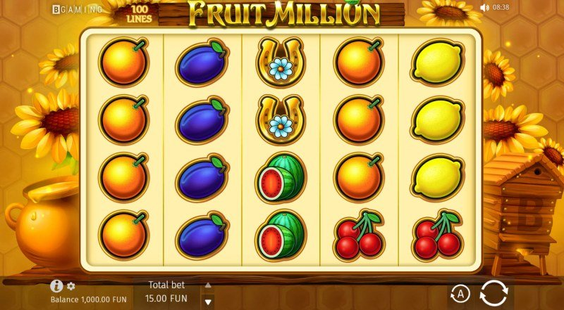 Fruit Million Summer Edition :: Base Game Screen