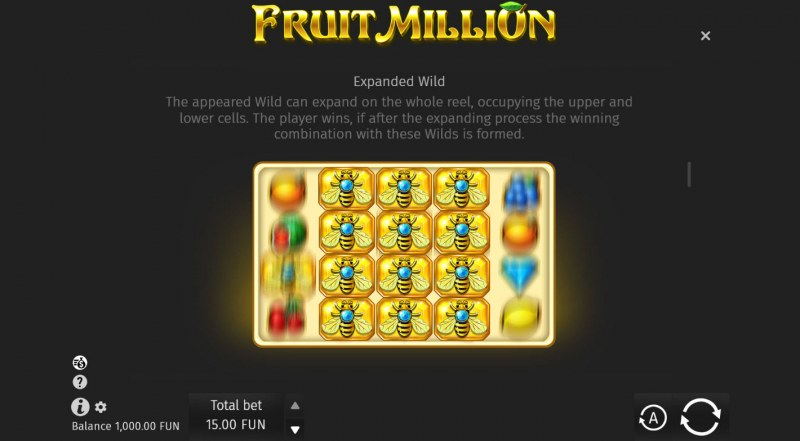 Fruit Million Summer Edition :: Expanded Wild