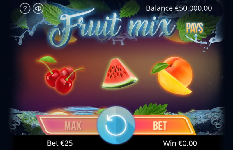 Fruit Mix :: Main Game Board