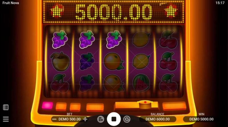 Fruit Nova :: A three of a kind win