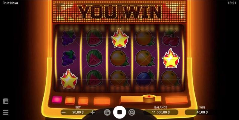 Fruit Nova :: Scatter Win