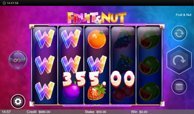Fruit & Nut :: Multiple winning paylines