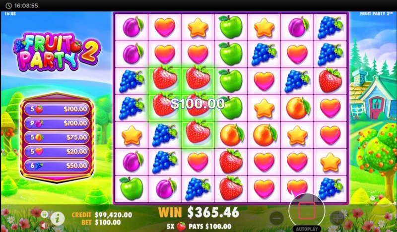 Fruit Party 2 :: Big Win