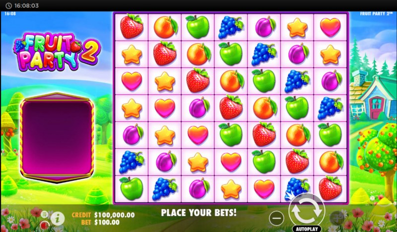 Fruit Party 2 :: Base Game Screen