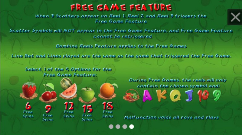 Fruit Poppers :: Free Games Feature