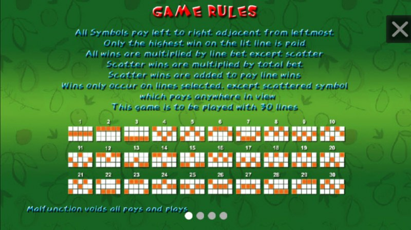 Fruit Poppers :: General Game Rules