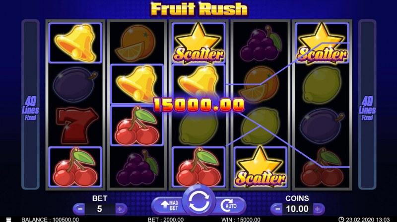 Fruit Rush :: Big Win