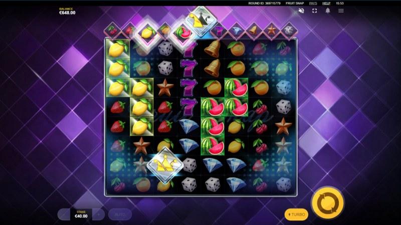 Fruit Snap :: Multiple winning clusters