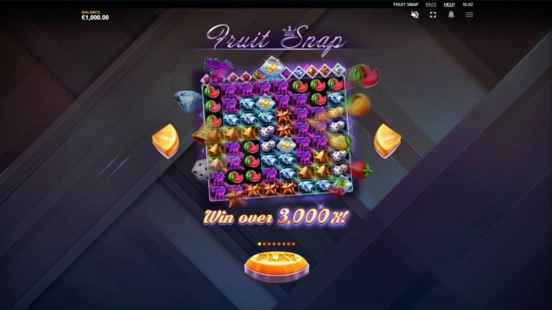 Fruit Snap :: Win up to 3000x