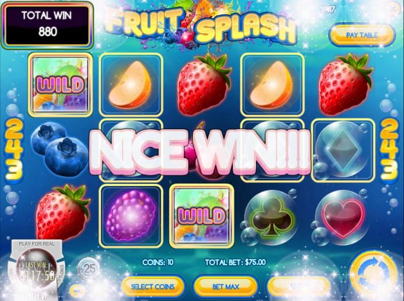 Fruit Splash :: Five of a kind