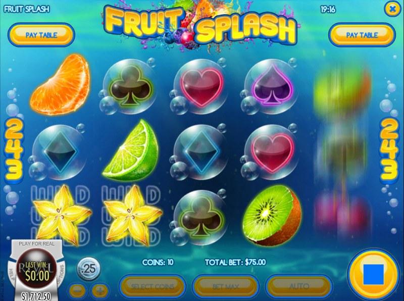 Fruit Splash :: Multiple winning combinations
