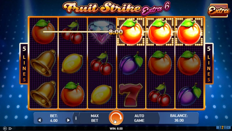 Fruit Strike Extra 6 :: Game Pays In Both Directions