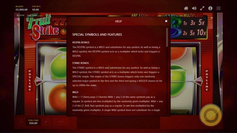 Fruit Strike :: General Game Rules