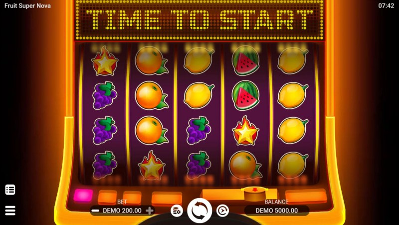 Fruit Super Nova :: Main Game Board